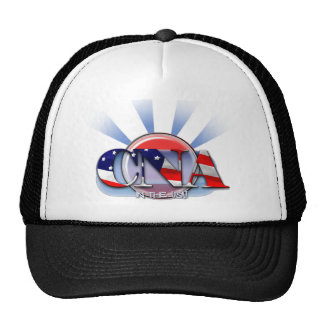 CNA IN THE USA - PATRIOTIC CERTIFIED NURSE AIDE TRUCKER HAT
