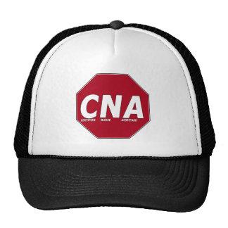CNA STOP SIGN - CERTIFIED NURSE ASSISTANT TRUCKER HAT