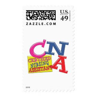 CNA WHIMSICAL LETTERS CERTIFIED NURSING ASSISTANT STAMPS