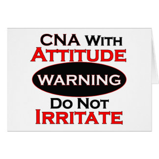 CNA With Attitude Card