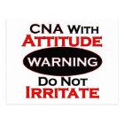 CNA With Attitude Postcard