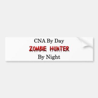 CNA/Zombie Hunter Bumper Sticker