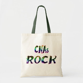 CNAs ROCK COLOR Tote Bag