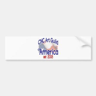 CNC Art Guild Stuff Bumper Sticker