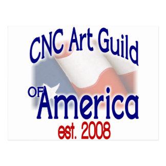 CNC Art Guild Stuff Postcard