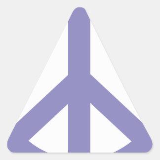 CND Peace Sign Triangle Sticker