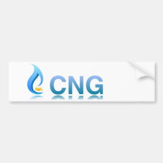 CNG Compressed Natural Gas Vehicle Sticker