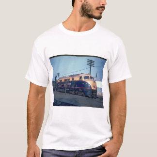 CNJ Baldwin double cab #2001, 1940'_Trains T-Shirt