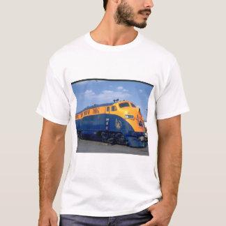 CNJ EMD F-3A #56. (train;sky_Trains T-Shirt