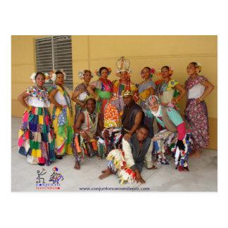 CNM Panamanian Congos Postcard