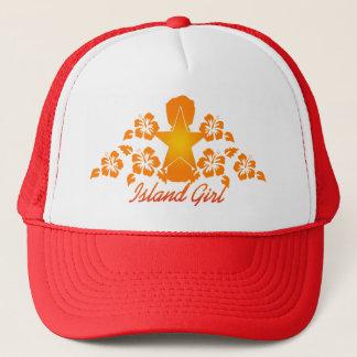 CNMI Islander Girl Trucker Hat