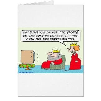 cnn just depresses king queen card