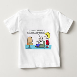 CNN merges with Science Fiction Channel. Baby T-Shirt