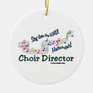 Cnotes Church Choir Director Christmas Ornaments
