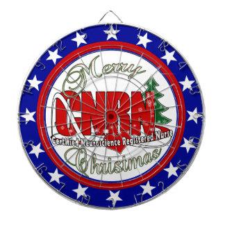 CNRN CHRISTMAS Neuroscience Registered Nurse Dart Boards