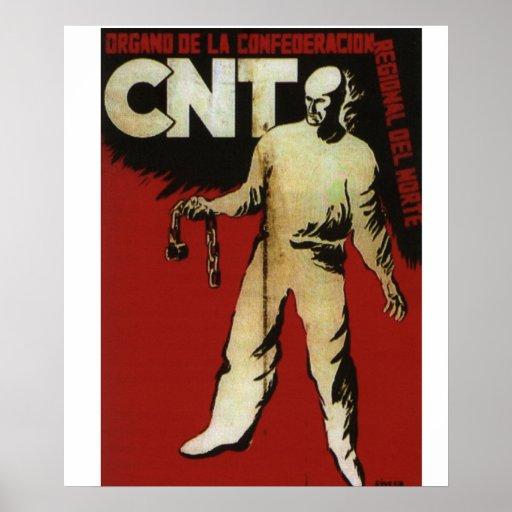 CNT North (1936)_Propaganda Poster