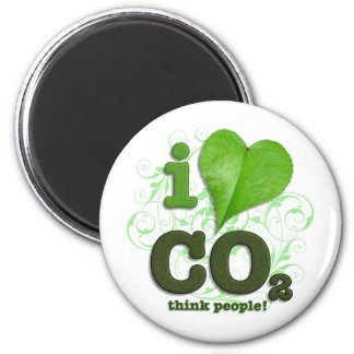 CO2 2 INCH ROUND MAGNET