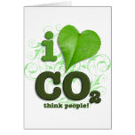 CO2 GREETING CARD