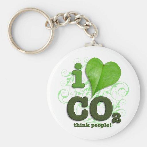 CO2 KEYCHAIN