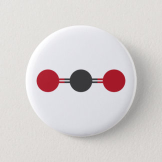 CO2 Molecular Structure Button