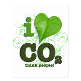 CO2 TARJETA POSTAL