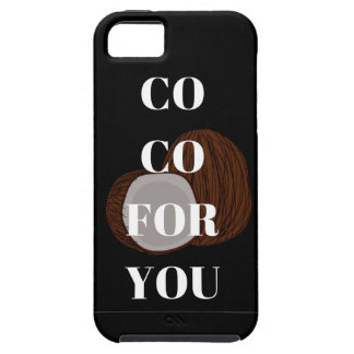 Co Co For You Coconut Illustration Phone Case
