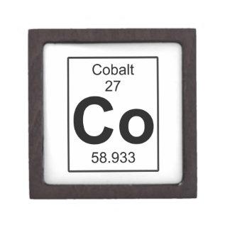 Co - Cobalt Keepsake Box