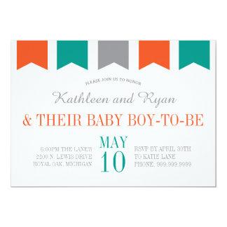 Co-Ed Baby Shower Invitation