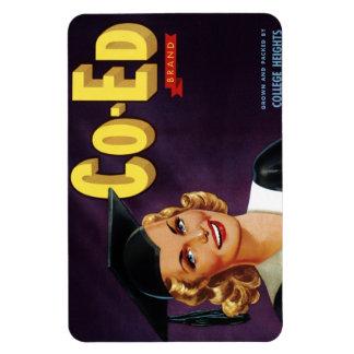 """""""Co-Ed Brand"""" Magnet"""