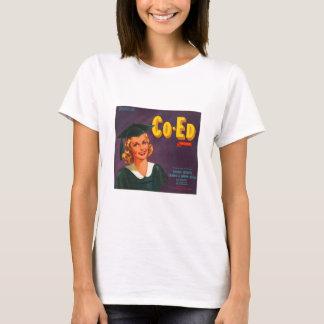 Co Ed Brand Oranges Vintage Advertisement T-Shirt