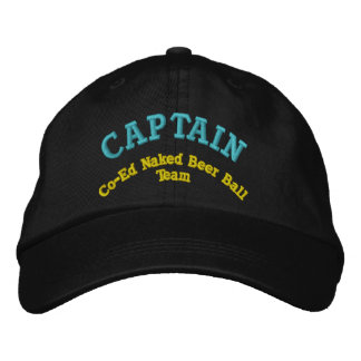 Co-Ed Naked Beer Ball Team Embroidered Hat