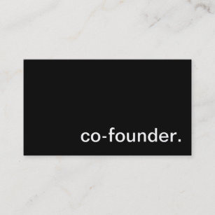 Founder business cards zazzle co founder business card colourmoves