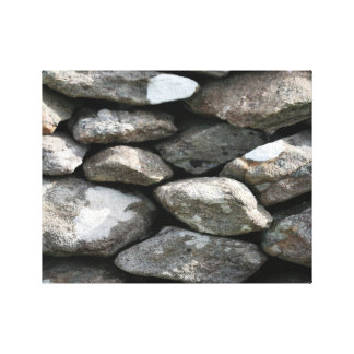 Co Kerry Dry Stone Wall Canvas Print