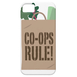 Co-Ops Rule! iPhone SE/5/5s Case