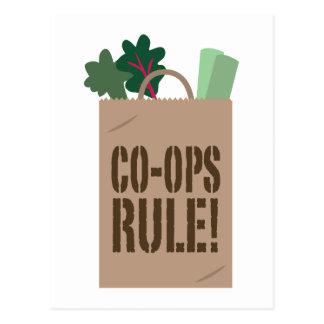 Co-Ops Rule! Postcard