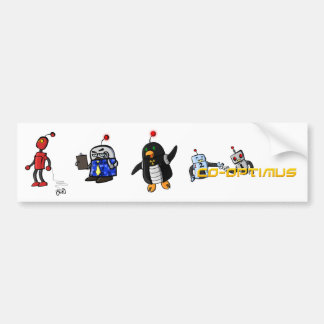 Co-Optimus Characters Bumper Sticker