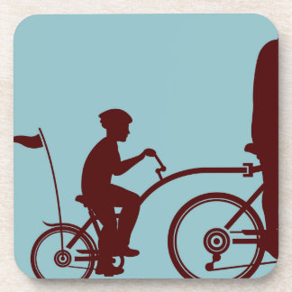 Co-pilot bicycle vector coaster