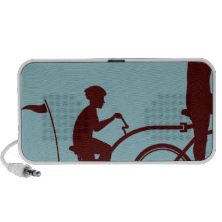 Co-pilot bicycle vector portable speaker