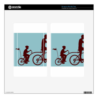 Co-pilot bicycle vector skins for kindle fire