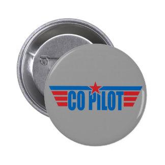Co-Pilot Wings Badge - Aviation Pin