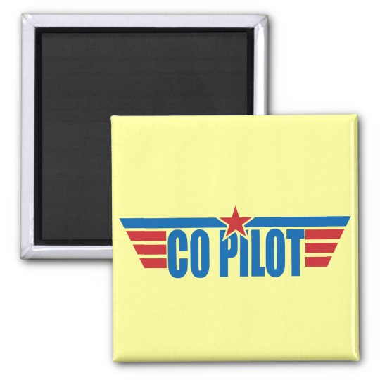 Co-Pilot Wings Badge - Aviation Magnet