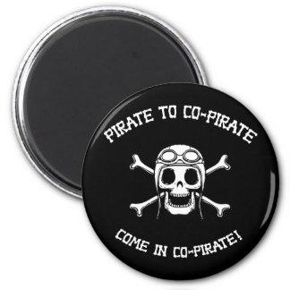 Co-Pirata del pirata Iman Para Frigorífico