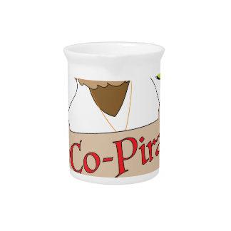 Co-Pirate Dog Beverage Pitchers