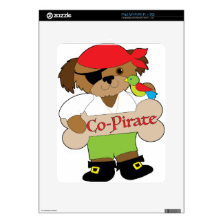 Co-Pirate Dog iPad Skin