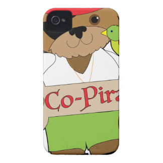 Co-Pirate Dog iPhone 4 Cover