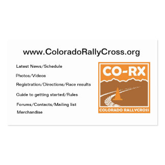 CO-RX Cards Business Card