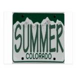 co summer post card