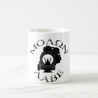 co-witness sights/molon labe classic white coffee mug