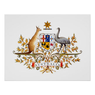 COA de Australia Póster