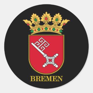 COA de Bremen Etiqueta Redonda